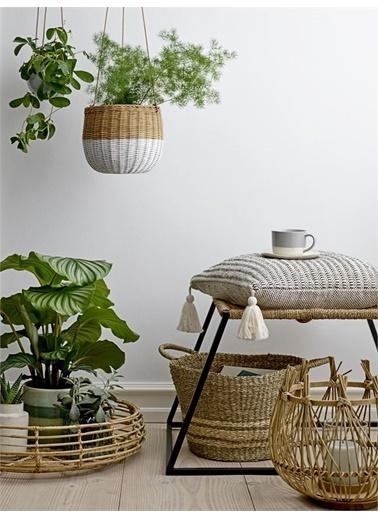 Warm Design Bambu Şamdan Kahve